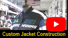 Watch how a Custom Vanson Jacket is made!