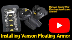 Installing Vanson's Floating GP Hard Armor and CE Armor