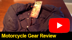 Motorcycle Gear Review, A brief video review of the Union Garage Robinson Jacket by Vanson