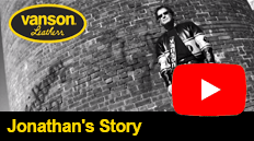 Jonathans story about his Vanson Leathers