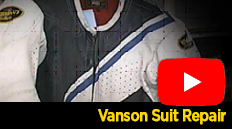 Vanson offers expert repair and resizing services for all of their garments