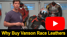 Why buy Vanson race leathers
