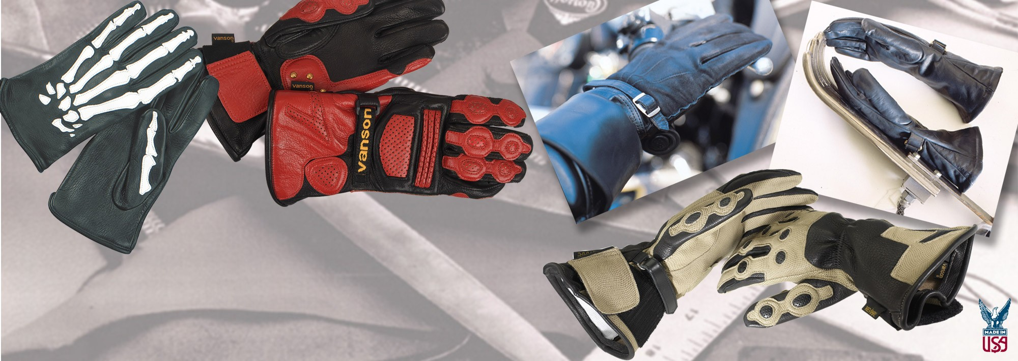 LEATHER GLOVES FAMILY