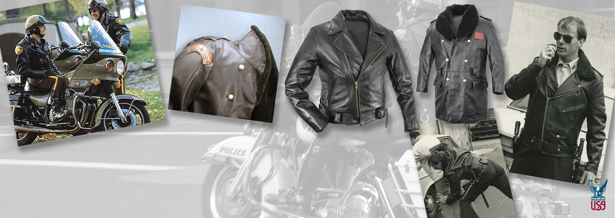 POLICE LEATHER JACKETS