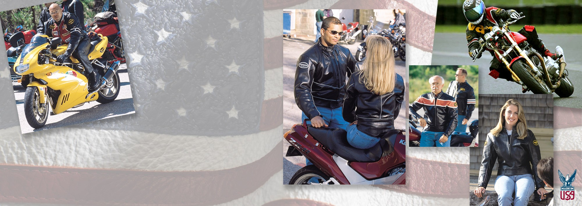 MOTORCYCLE JACKETS WITH RACING DNA